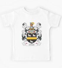 Dyer Coat of Arms Kids Tee
