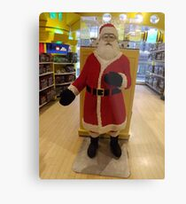 Lego Santa Claus, FAO Schwarz Toystore, New York City Metal Print