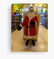 Lego Santa Claus, FAO Schwarz Toystore, New York City Canvas Print