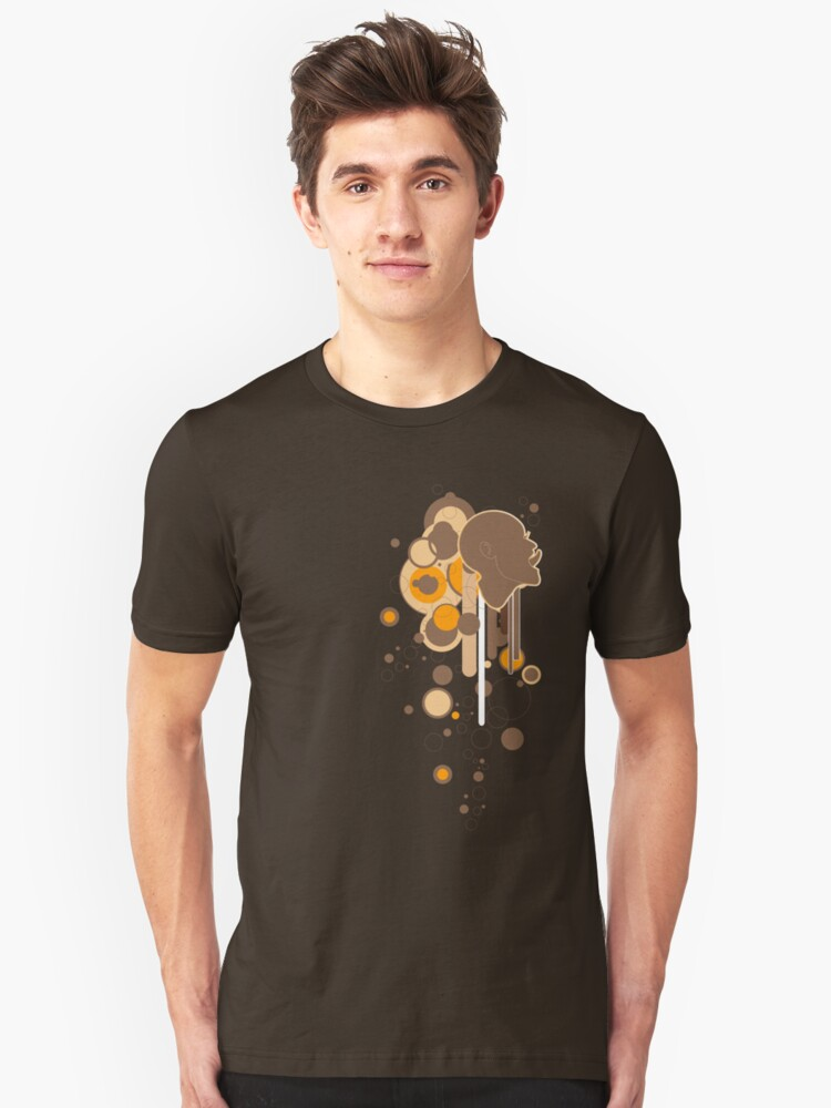 Bubble-icious rev Unisex T-Shirt Front