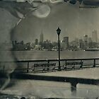 Midtown Manhattan (Wet Plate Collodion Tintype) by Kevin Koepke