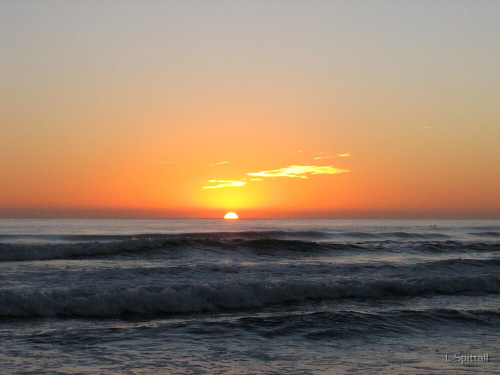 Currumbin Beach sunrise by L Spittall