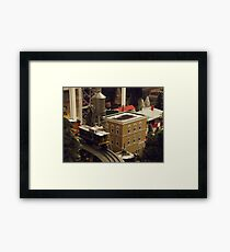 Lionel Model Trains, Model Village, FAO Schwarz Toystore, New York City Framed Print