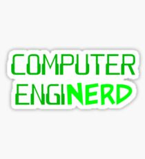 Computer Engineer Enginerd Sticker