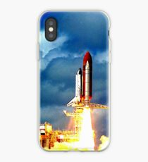Vinilo o funda para iPhone SPACE SHUTTLE DISCOVERY 2