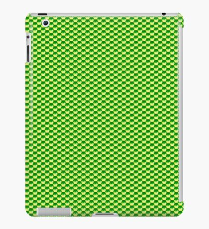 Green Glass Scales iPad Case/Skin