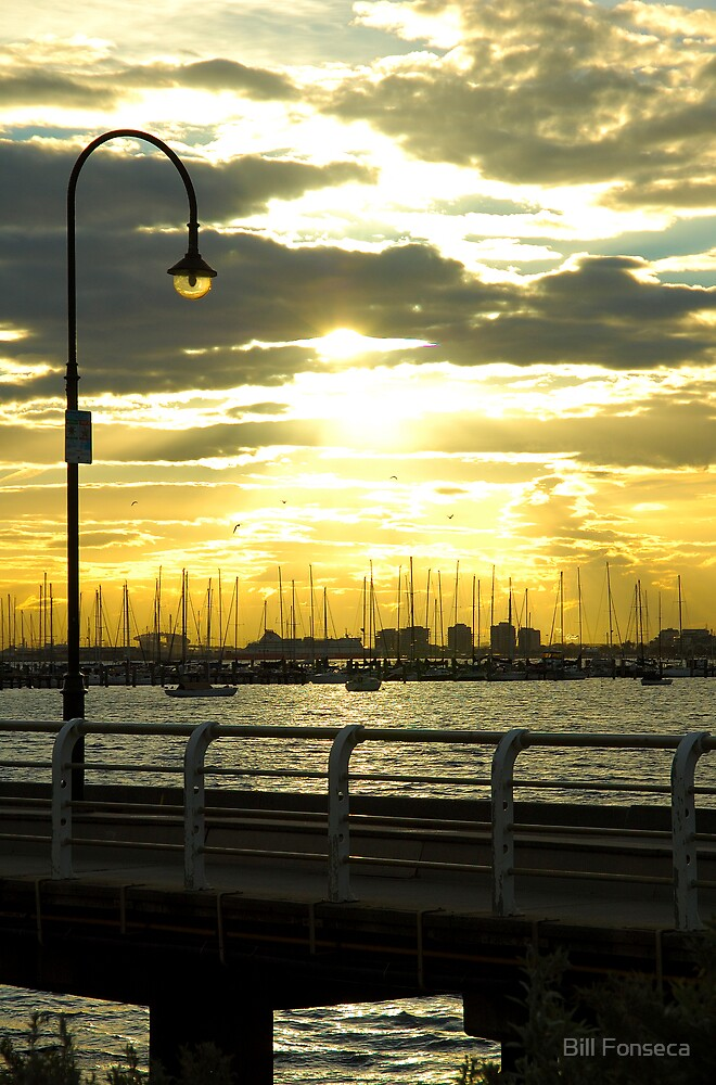 St. Kilda Jetty by Bill Fonseca
