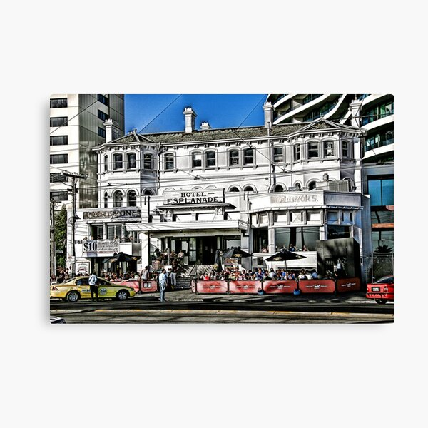The Espy, St Kilda Canvas Print