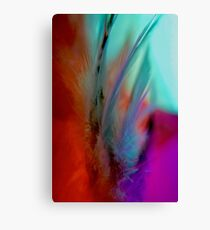 Feathered Opulence - Vertical Canvas Print