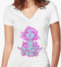 Gossamer Women's Fitted V-Neck T-Shirt