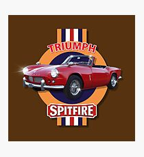 Triumph Spitfire 4 by MotorManiac Photographic Print