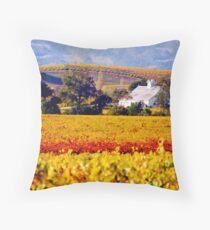 Napa Winery Throw Pillow