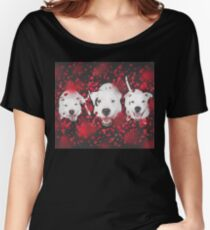 Valentine Pups Women's Relaxed Fit T-Shirt