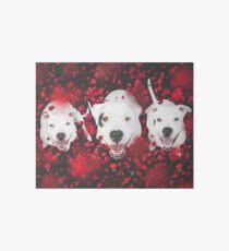 Valentine Pups Art Board