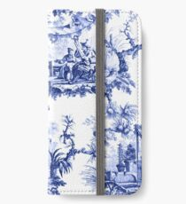 Blue Chinoiserie Toile iPhone Wallet/Case/Skin