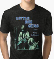Little Big Guns Rory Gallagher Tribute Tri-blend T-Shirt