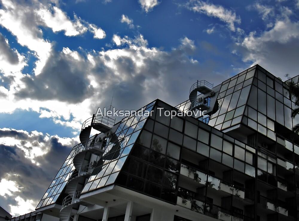 Reflection - I call architecture a frozen music  by Aleksandar Topalovic