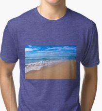 Surfer's Paradise - Gold Coast, Queensland Tri-blend T-Shirt