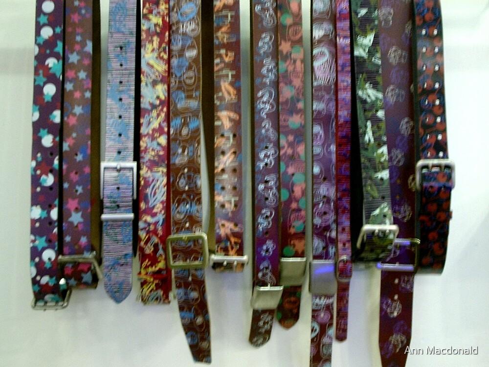 Belts by Ann Macdonald