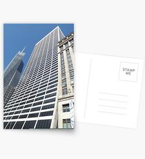 Modern and Classic Architecture, 42nd Street, New York City Postcards