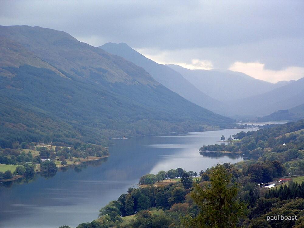 Loch Voil in the Trossachs by paul boast