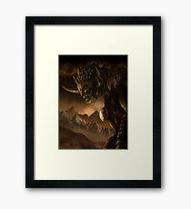 Bolg the Goblin King Framed Print