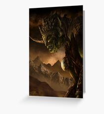 Bolg the Goblin King Greeting Card