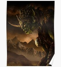 Bolg the Goblin King Poster
