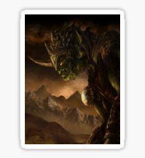 Bolg the Goblin King Sticker