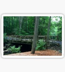 Sleepy Hollow Cemetery Bridge Sticker