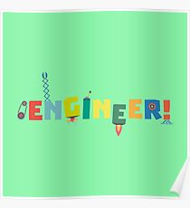 Be an Engineer with Tools R8c69 Poster