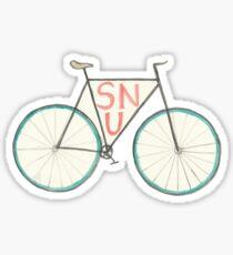 Bike- SNU Sticker