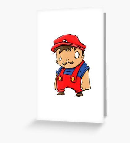 Itza Mii Greeting Card
