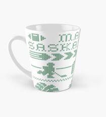 Saskatchewan Ugly Sweater (Green) Tall Mug
