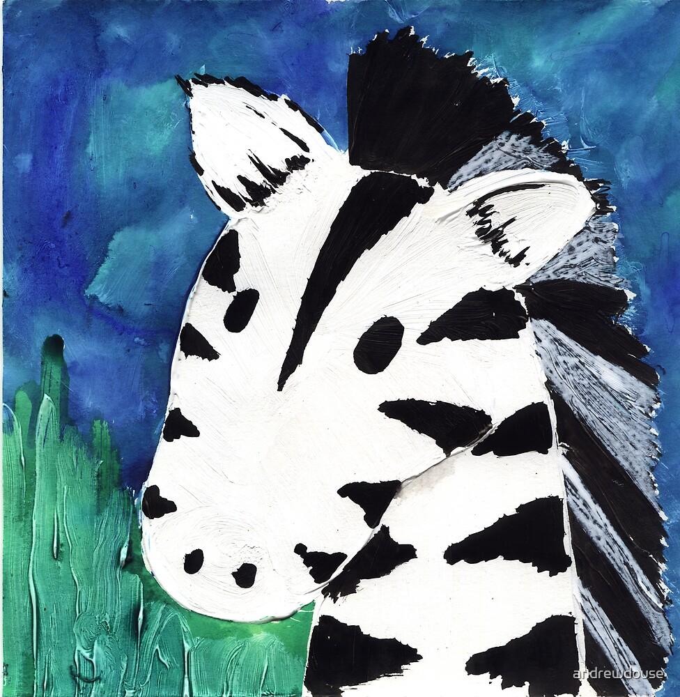 Zebra by andrewdouse