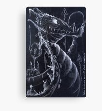 Goofy Dragon Canvas Print