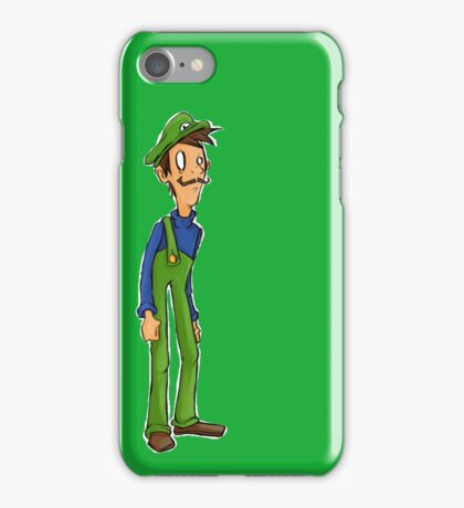 Itza Luigi iPhone Case/Skin