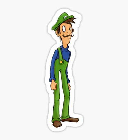 Itza Luigi Sticker