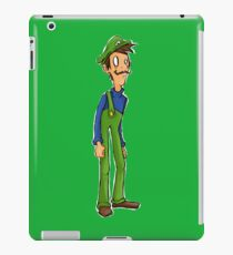 Itza Luigi iPad Case/Skin