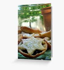 Mince-pies Greeting Card