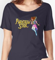 Phantasy Star (Genesis) Title Screen Women's Relaxed Fit T-Shirt