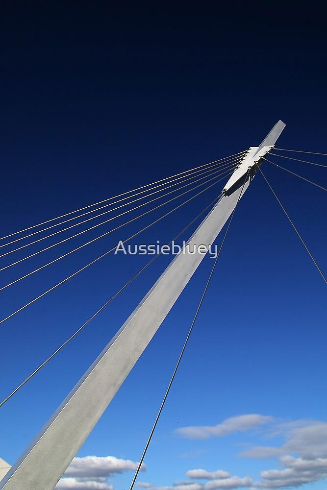 Footbridge Support by Aussiebluey