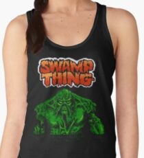 Swamp Thing (Nes) Title Screen Women's Tank Top