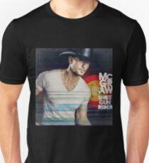 Tim McGraw Shot Gun Rider Unisex T-Shirt