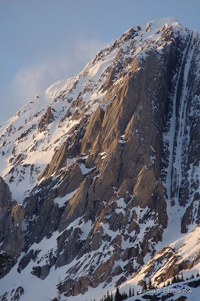 Canadian Rockies  by Bassam  Shmordok