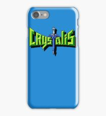 Crystalis (Nes) Title Screen iPhone Case/Skin