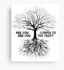 The Hanging Tree Metal Print