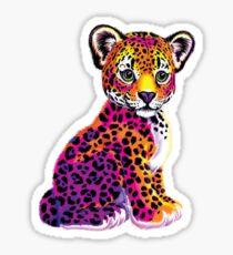 Lisa Frank Leopard Sticker