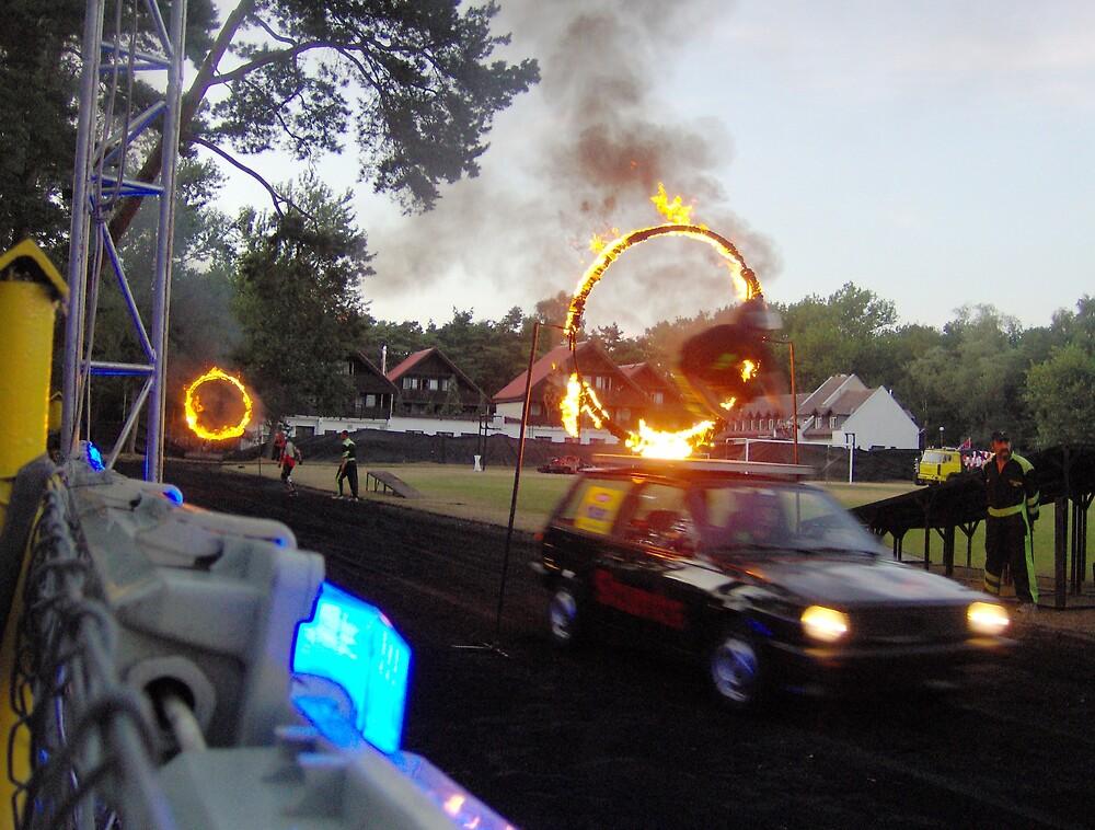 Fire Hoop by Patrick Ronan