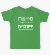 Official Chris Crocker - Food Before Dudes Shirt Kids Tee